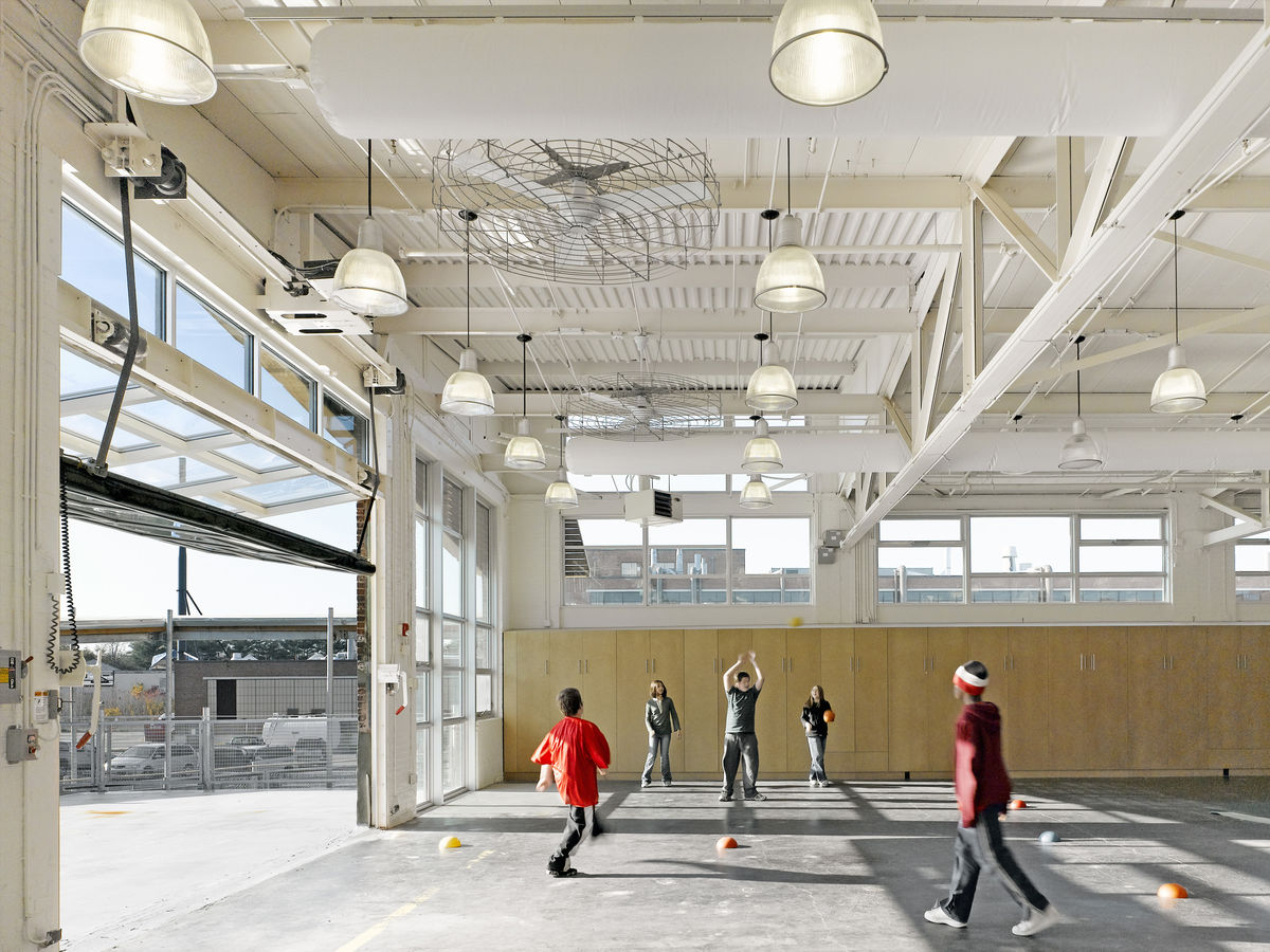 Atrium School Maryann Thompson Architects