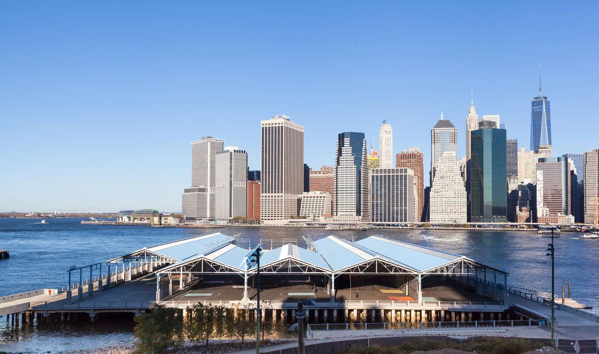 Pier 2 at Brooklyn Bridge Park | Maryann Thompson Architects
